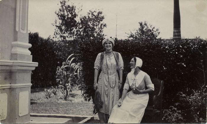 Prudence and Madelene Ashton