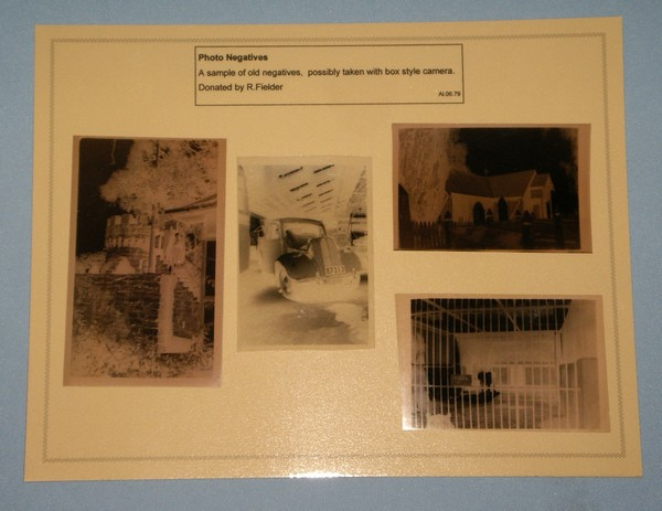 Photograph negatives