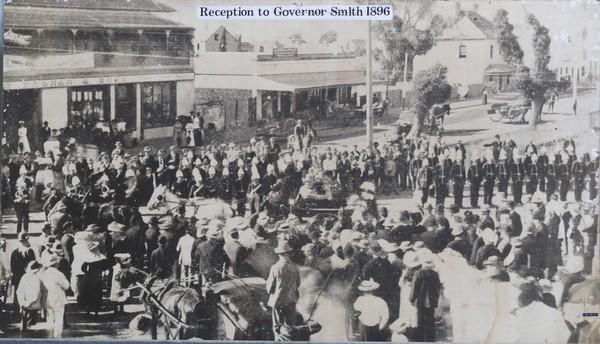 Reception for Governor Smith
