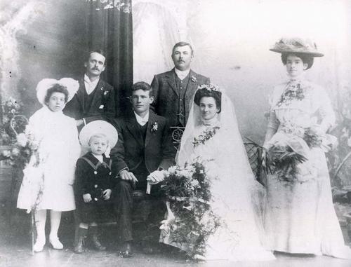 Wedding of Clarita De San Miguel and Sidney Taylor