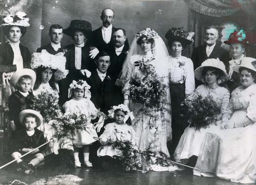 Wedding of Agnes De San Miguel