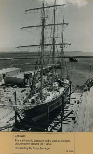 Sailing ship Leeuwin