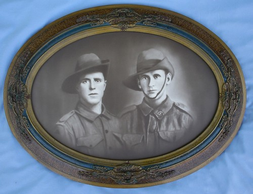 Two Army Brothers : Arthur and Walter Beesley