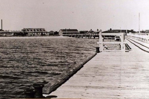 Jetty at Quarantine Station Woodman Point