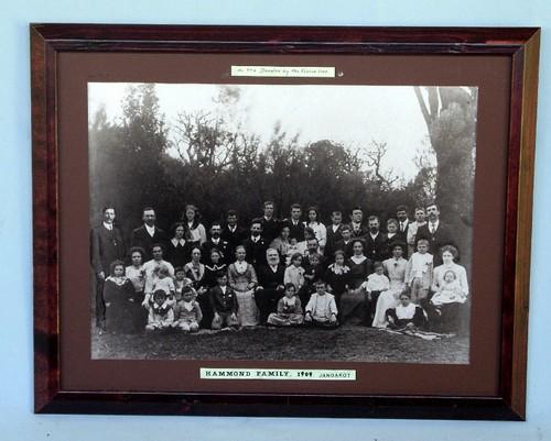 Hammond Family taken in Jandakot, c1909